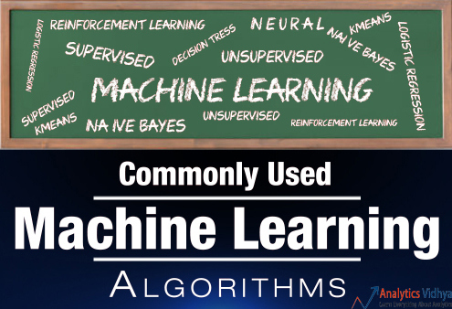 common machine learning algorithms